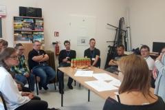 Spotkanie testujące grę z uczniami, którzy pełnili w projekcie rolę ekspertów